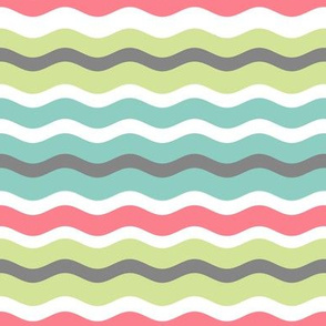 Colorful Waves Pattern