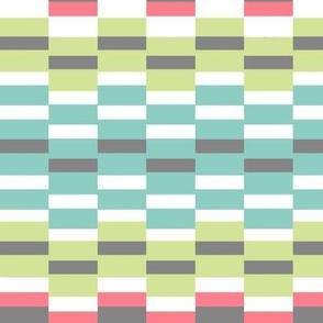 funky stripe squared