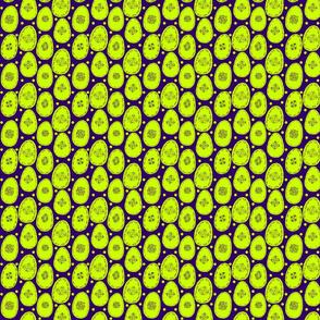 Lime eggs