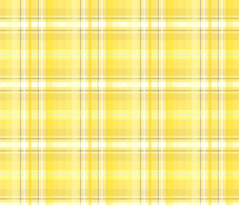 goldenmodplaid fabric by krissikins on Spoonflower - custom fabric