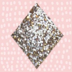 Diamond Rain Ballerina Pink