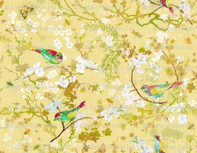 Bird + the Bees (Butter Yellow) MED