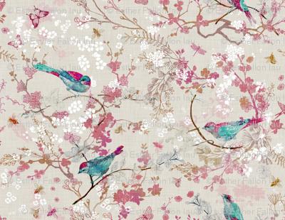 Birds + Bees (Rose) (MED)