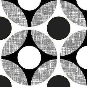 UK Mod Geometric in black + white by Su_G_©SuSchaefer