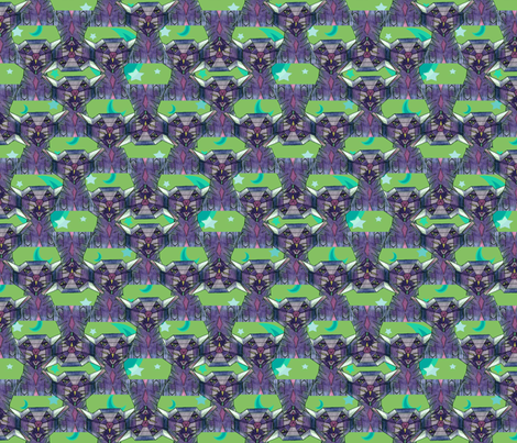 CubyCats2 fabric by chovy on Spoonflower - custom fabric