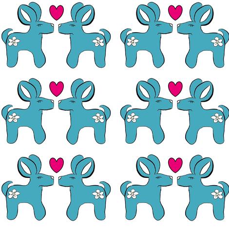 bambit_heart2 fabric by mayadesign on Spoonflower - custom fabric