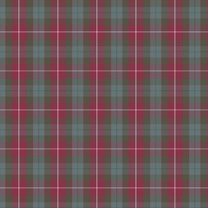 1/2 scale Fraser weathered red hunting tartan