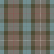1/2 scale Fraser weathered hunting tartan