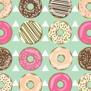 DONUTS AND TEEPEES MINT