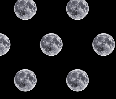 Full Moon fabric by interrobangart on Spoonflower - custom fabric