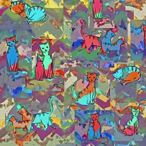 Cats cubism