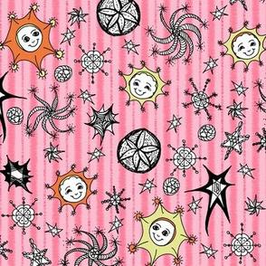 Colourful Celestials - Stawberry Sugar Stripe