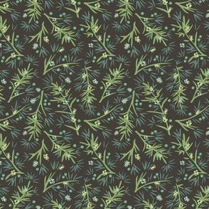 Wildwood: Twigs and Berries—Aqua