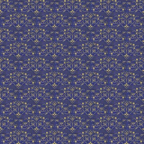 DENIM Hearts fabric by amyvail on Spoonflower - custom fabric