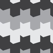 Chevron - Monochrome Grays