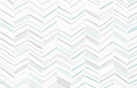 Herringbone Hues of M+M Aqua by Friztin fabric by friztin on Spoonflower - custom fabric