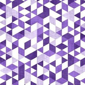 Geometric Background Purple