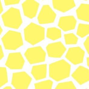 Geo Giraffe Yellow