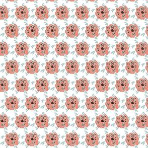 Chrysanthema design white