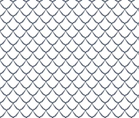 Single wave fabric by moirarae on Spoonflower - custom fabric