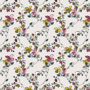 Animal Print Floral