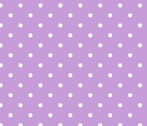 white_spots_violet fabric by mysticalarts on Spoonflower - custom fabric
