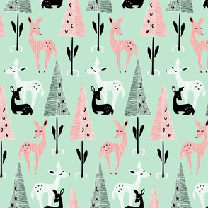 Deer Dwelling: Mint