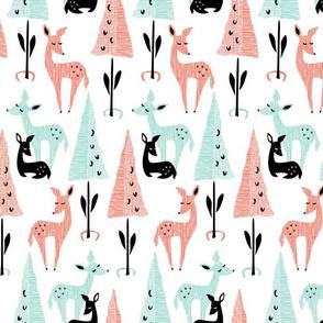 Deer Dwelling: White