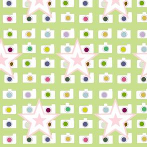 Starlet - kiwi pink