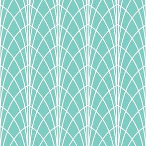 Arcada - Modern Geometric Aqua