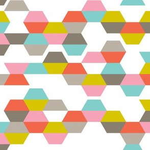 Hex-Code - Modern Geometric Hexagon