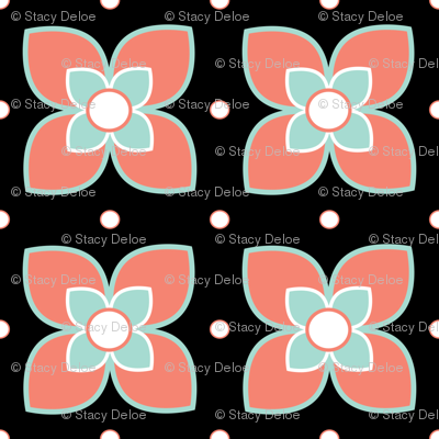 Rspoonflower_coral_and_mint_2015_preview