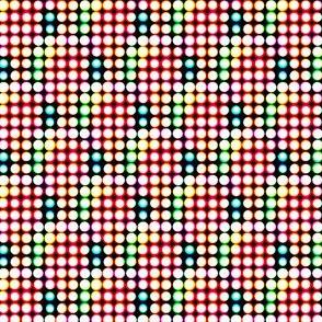 Neon Lights Half-tone