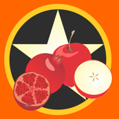 Apple and Pomegranate