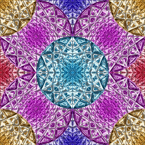Geometric Star 5 Color