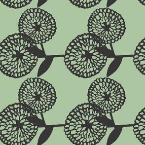 Green Zinnia Chain