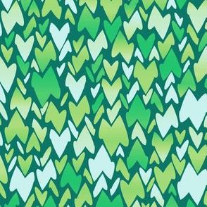 serene leaves