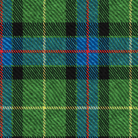 Classic Tartan in Green fabric by willowlanetextiles on Spoonflower - custom fabric