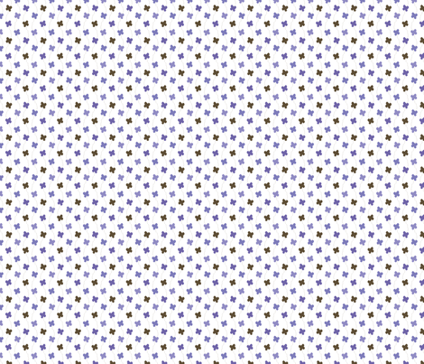 dancing_butterflies_blue_copie fabric by aliceandcodesigns on Spoonflower - custom fabric