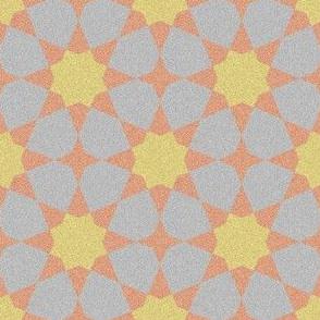 octagonal glitter sand stars