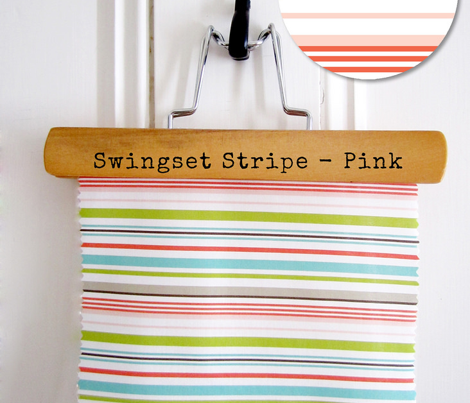 Swingset Stripe - Pink