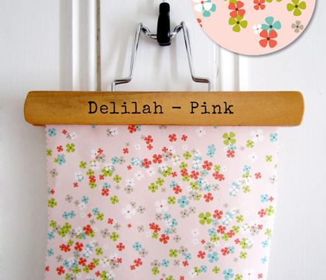 Delilah - Floral Pink