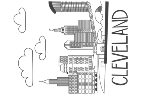 cleveland fabric by kfay on Spoonflower - custom fabric