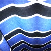 Blue Sea Stripes
