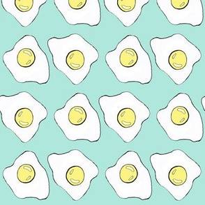 Fried Egg Combo on Mint