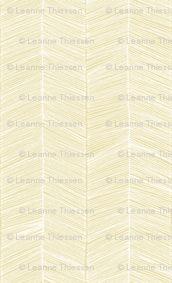 Herringbone - Golden Yellow