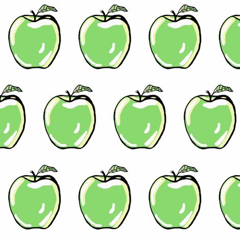 Green Apple Smash fabric by tarareed on Spoonflower - custom fabric