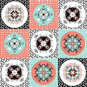 coral_mint_white_checker_board_4h