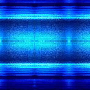 Mirror Image in Sapphire Blue Tones
