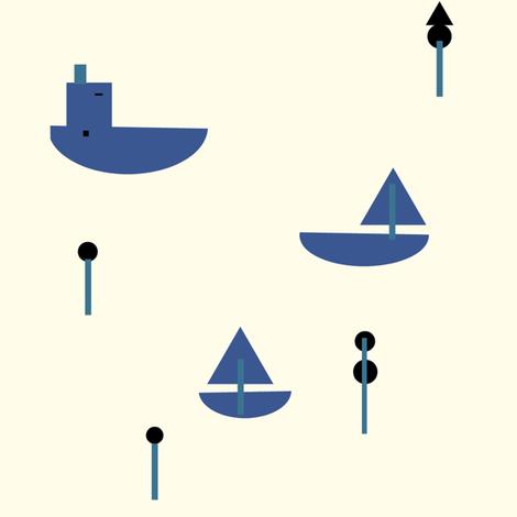 sailor fabric by luckywe on Spoonflower - custom fabric